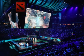 Dota 2 Tournament in Seattle's KeyArena
